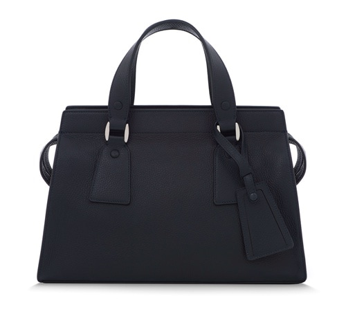 Armani/Marina Bay - GIORGIO ARMANI Le Sac 11 Classic Medium in Navy