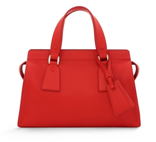 Armani/Marina Bay: GIORGIO ARMANI Le Sac 11 Classic Medium in Red