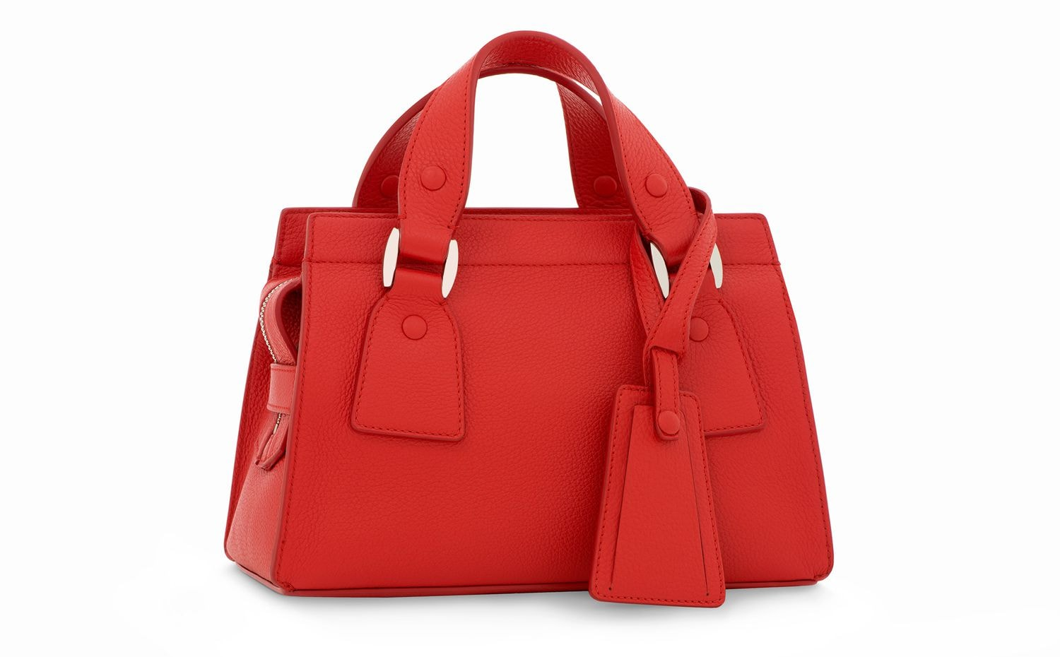 Armani/Marina Bay: GIORGIO ARMANI Le Sac 11 Classic Small in Red