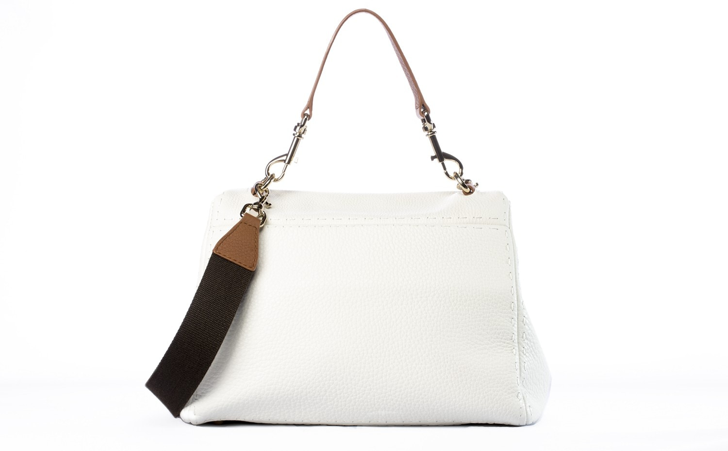 CH Carolina Herrera: Baret Bag in White