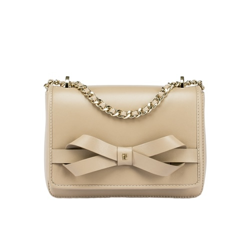 CH Carolina Herrera - MASA Bow Bag Beige