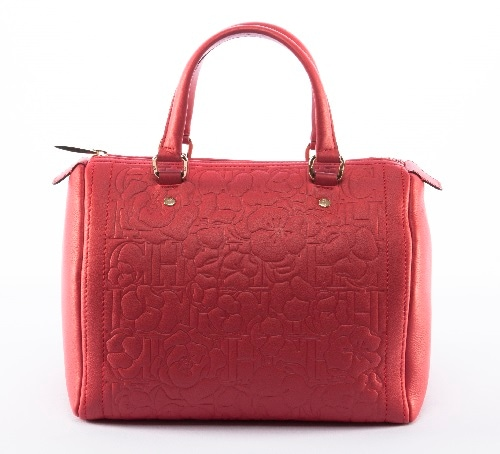 CH Carolina Herrera - Bouquet Andy Bag in Red