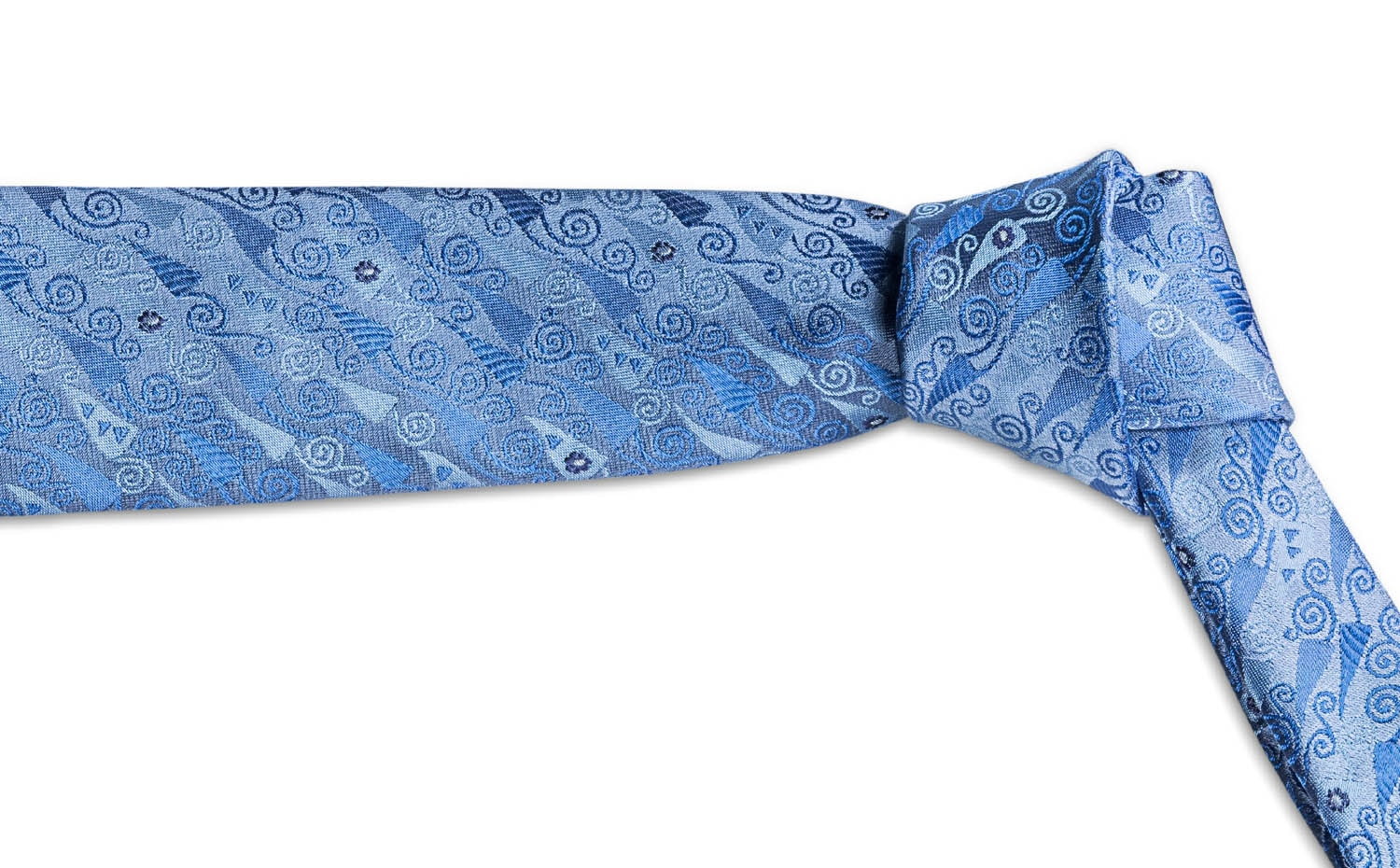 FREYWILLE: Gustav Klimt Silk Tie - Hope Collection