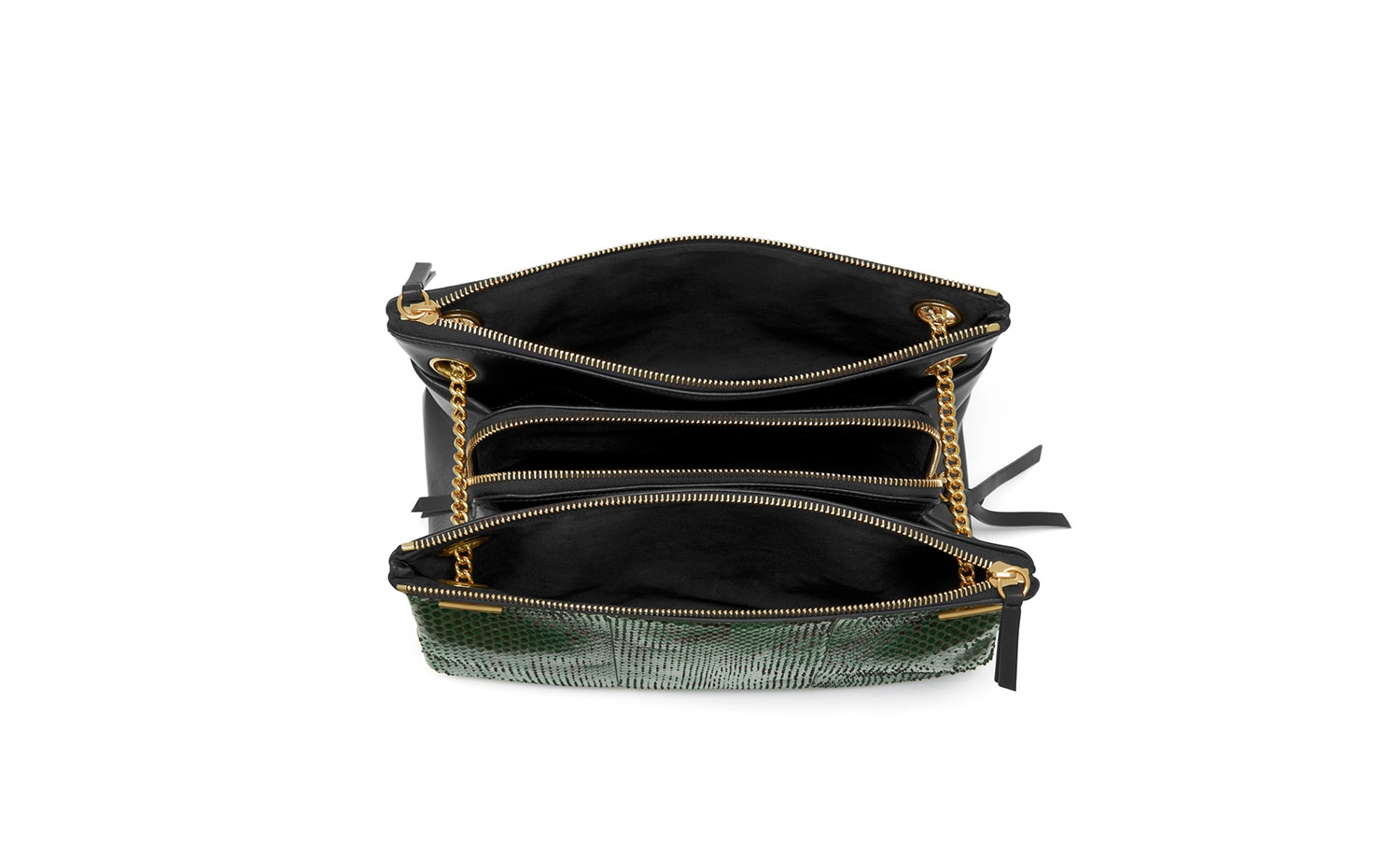 Mulberry: Winsley Emerald Python