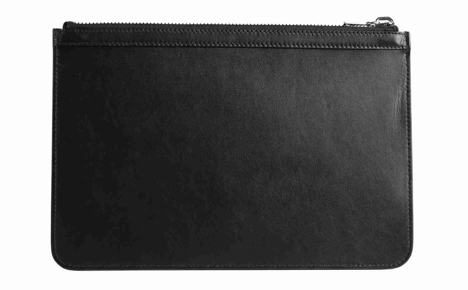 Proenza schouler pin collection medium zip pouch in black for Housse zip collection captur