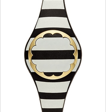 Kate Spade - New Scallop Stripe Tracker at The Shoppes at Marina Bay Sands