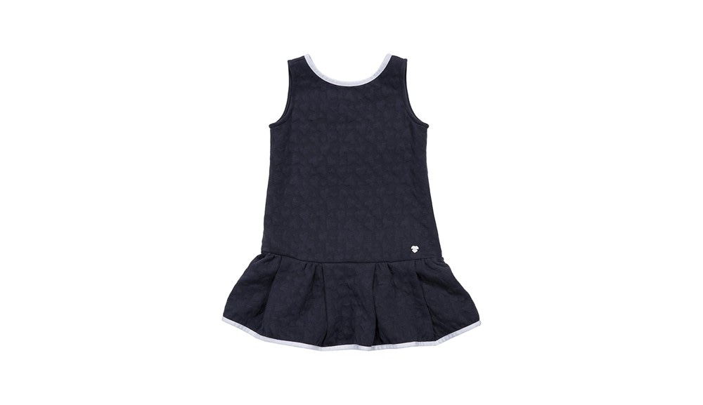 Armani Junior - Dress with Contrast Piping Back Detail