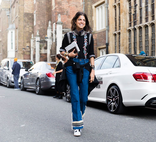 Front Row Fashion Week - New York Style Icon Leandra Medine