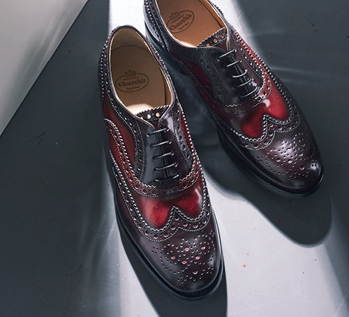 Leather oxfords from Church's