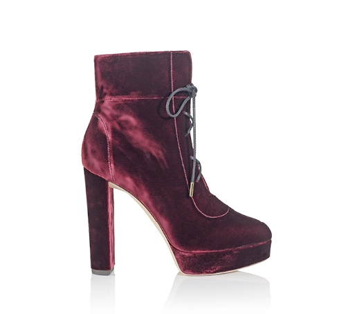 Deon 120 velvet boots from Jimmy Choo