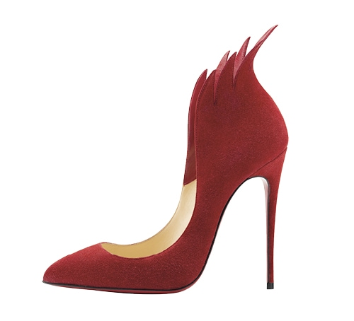 Suede pumps from Christian Louboutin