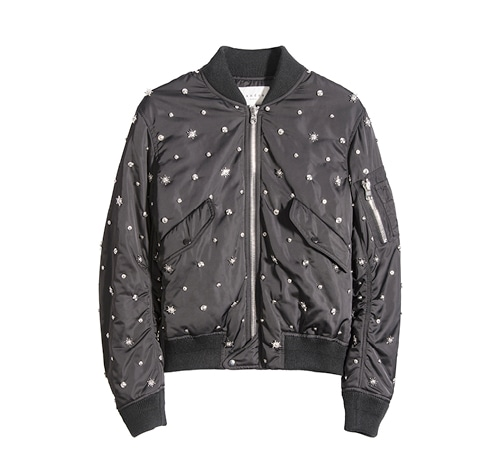 Embellished bomber jacket from Sandro