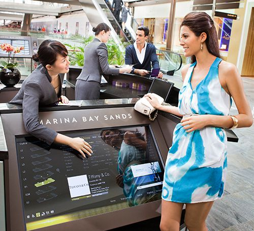 Retail Concierge Services at The Shoppes at Marina Bay Sands