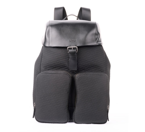 Armani Collezioni Quilted Backpack