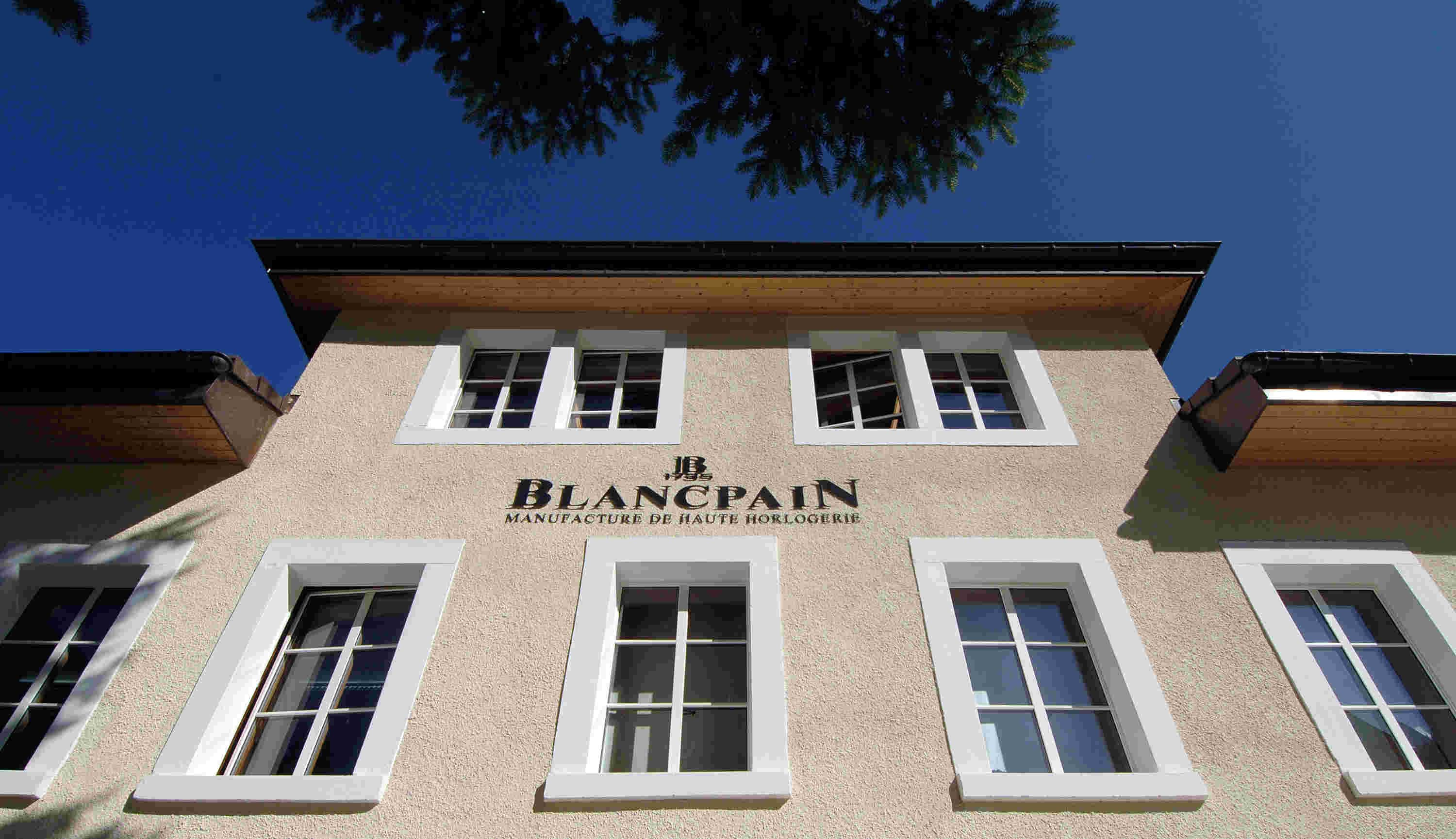 Blancpain Manufacturing in Le Brassus