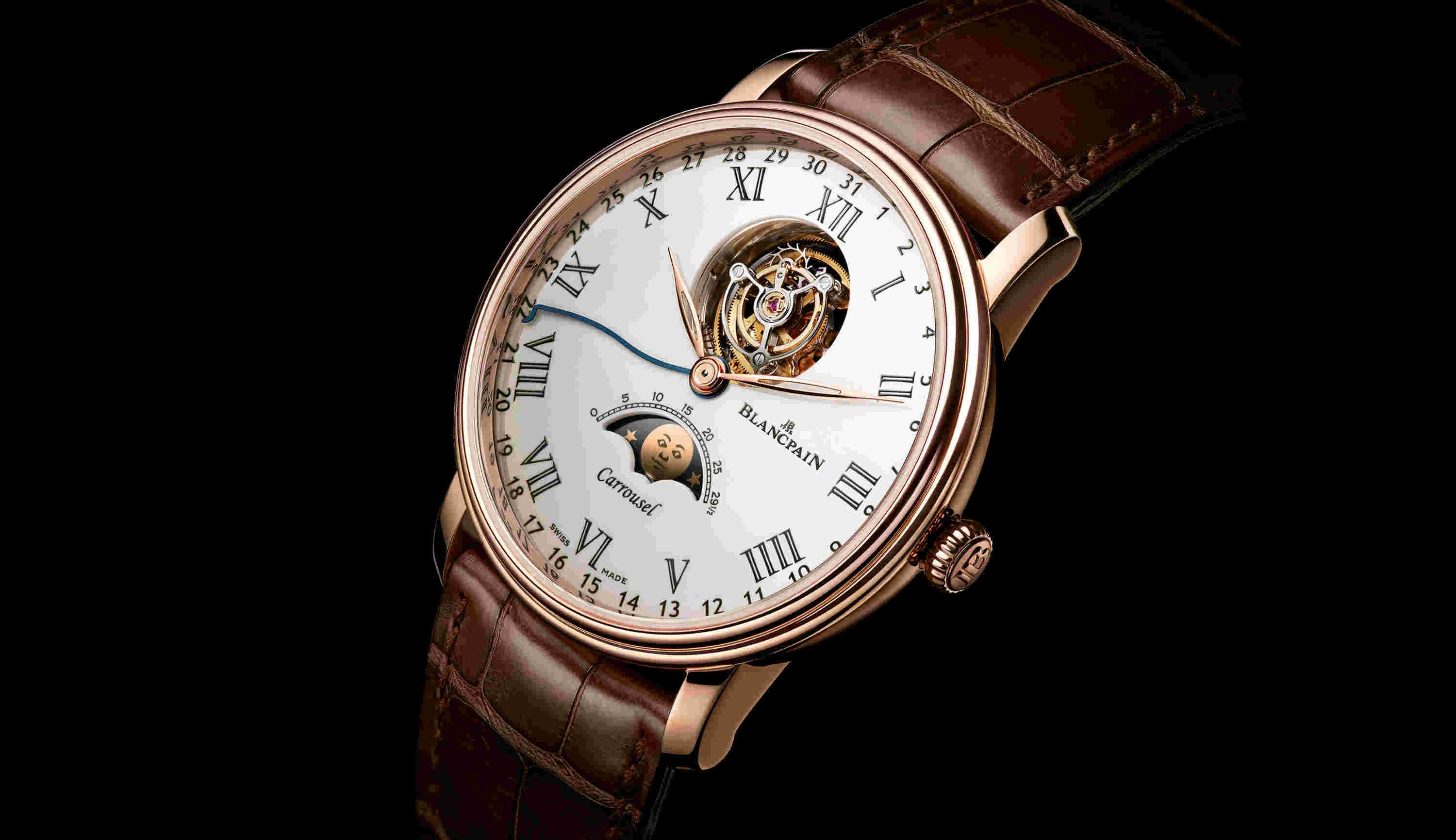 Villeret Moon Phases Carrousel