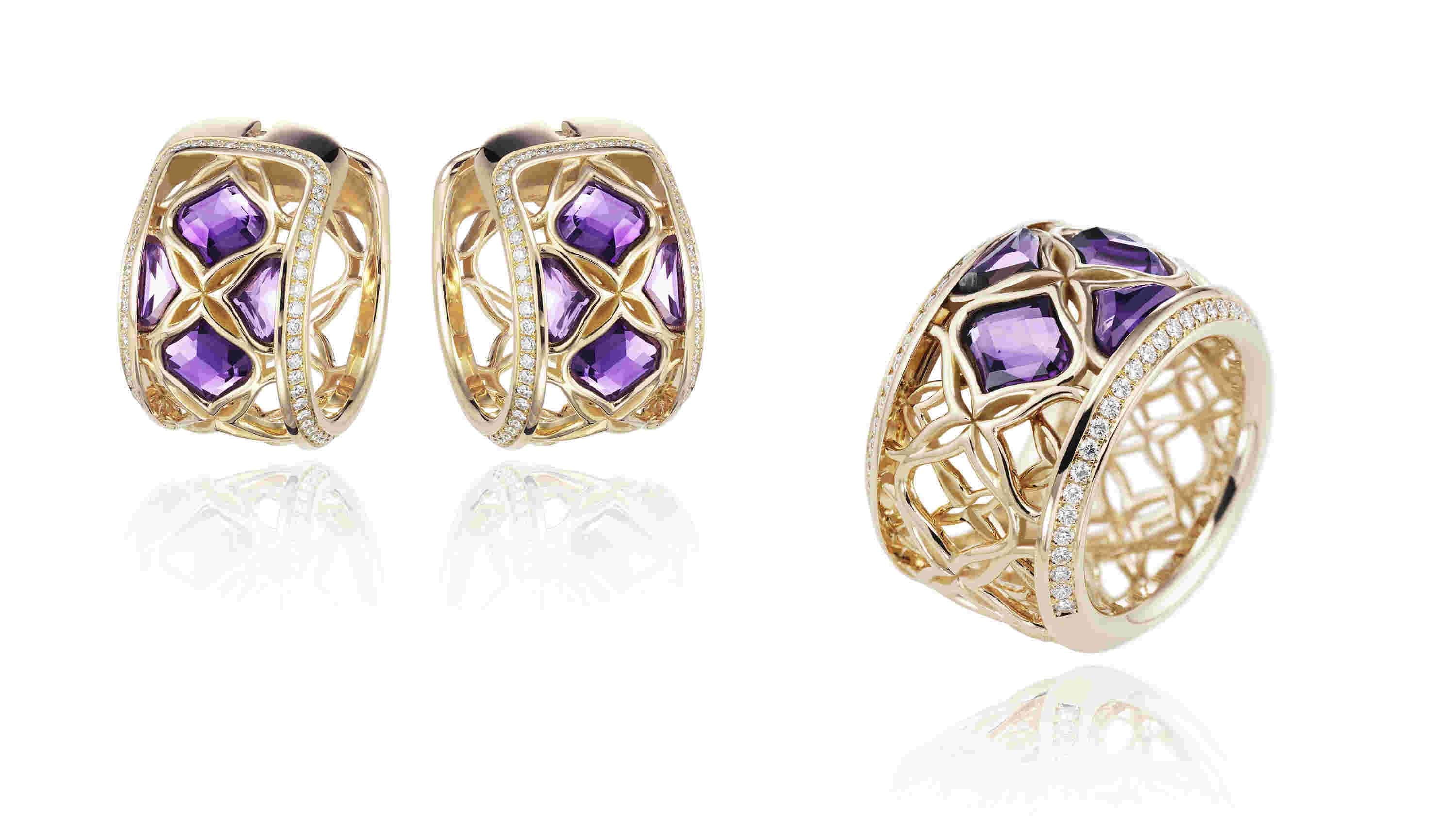 Chopard Imperiale Jewellery Collection in Rose Gold