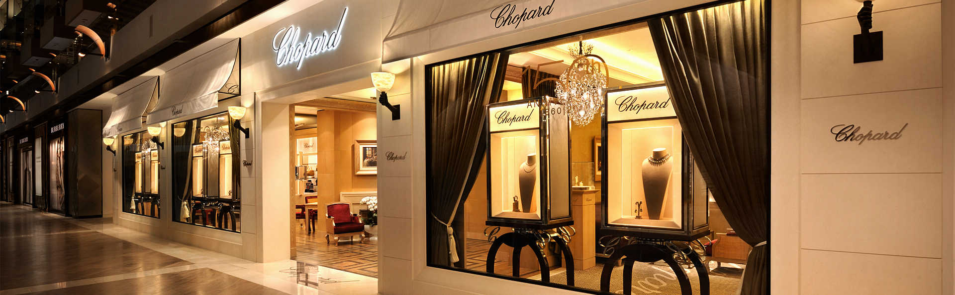 Chopard Watches in The Shoppes at Marina Bay Sands