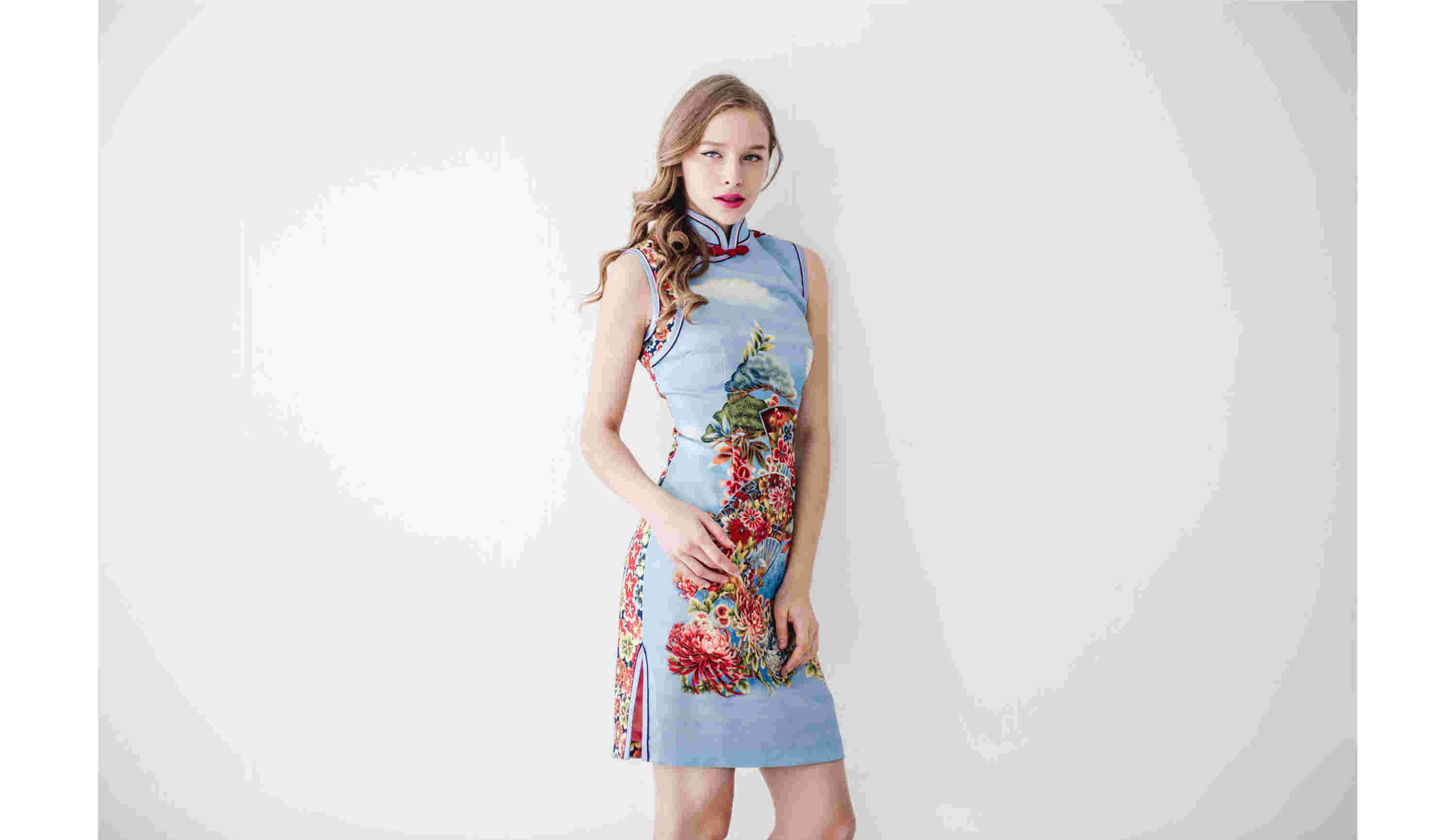 BLUM - Weekend Wear - Sky Garden Cheongsam