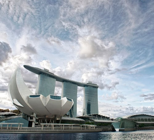 Getting to Marina Bay Sands